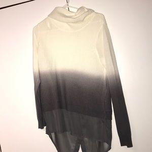 NY&Co Soho long sleeve ombré sweater NWOT
